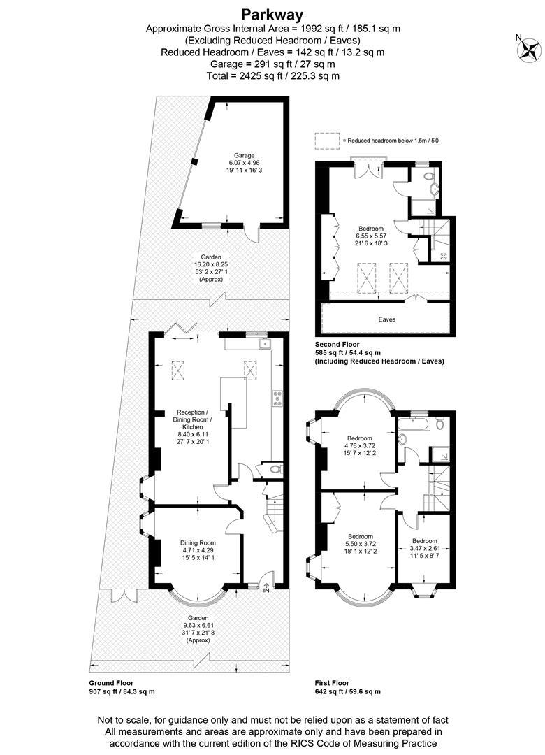 Floorplan for Parkway, Wimbledon